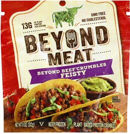 """BEYOND MEAT, BEYOND BEEF CRUMBLES FEISTY"""