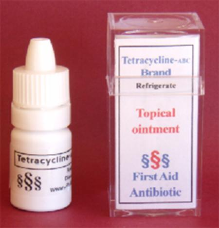 """Tetracycline ABC brand topical ointment"""