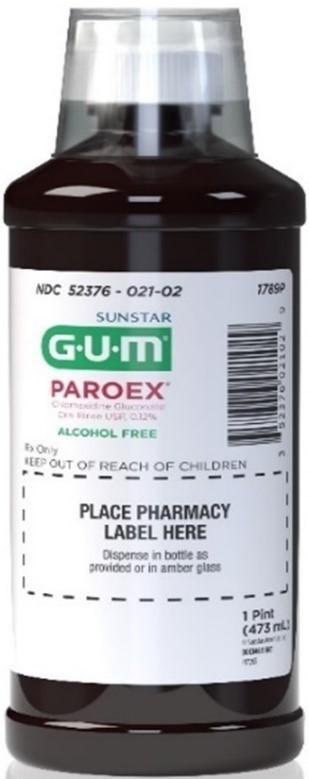 Picture of Paroex Chlorhexidine Gluconate Oral Rinse, 16 oz