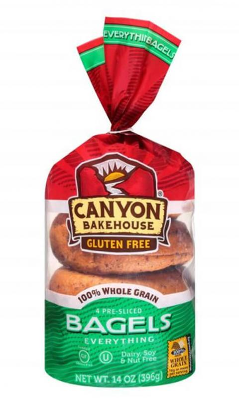 Label, Canyon Bakehouse Everything Bagels