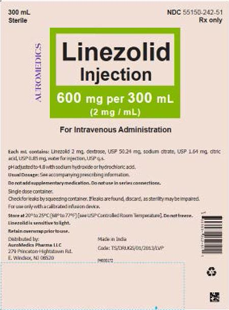 """Label, Linezolid Injection"""