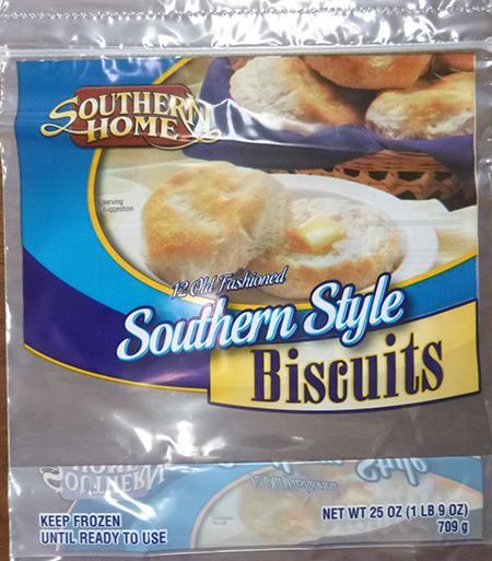 SOUTHERN HOME 20CT SOUTHERN STYLE BISCUITS, 20 ct UPC 8826703141