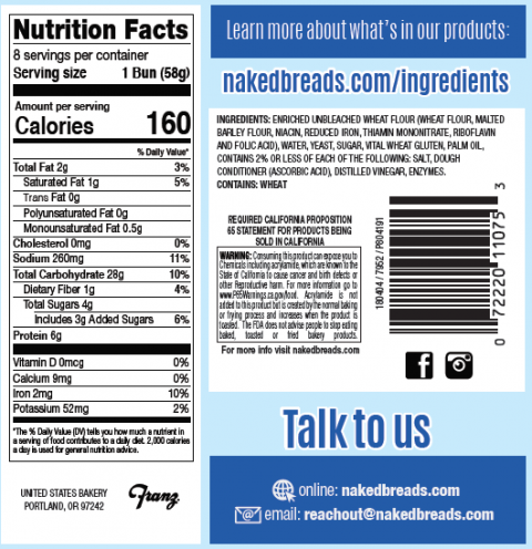 """Nutrition Facts and Ingredient Statements"""