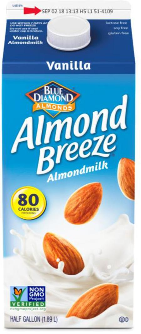 Picture of Blue Diamond Almond Breeze Almondmilk