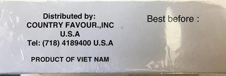 """Product of Viet Nam"""