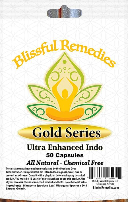 """Blissful Remedies, Gold Series, Ultra Enhanced Indo, 50 Capsules"""