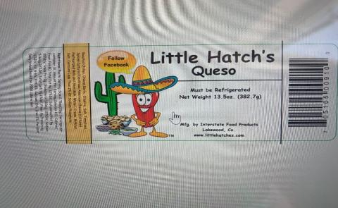 Little Hatch's Queso, UPC code 638183961496