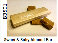 """Sweet & Salty Almond Bar, product image"""