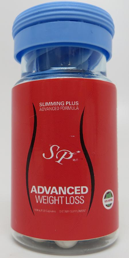 Slimming Plus Advanced Weight Loss; 30 capsules; 500mg each