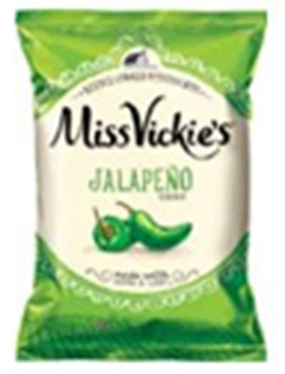 """Jalapeno Flavored Miss Vickie's Kettle Cooked potato chips Single Pack"""