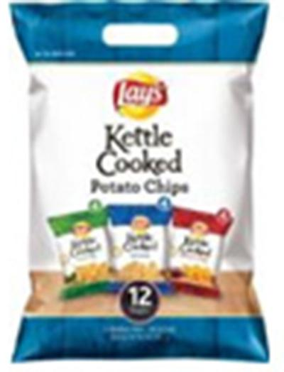 """12 count Lay's Kettle Cooked Multipack Sack, Containing Jalapeno Flavored Chips"""