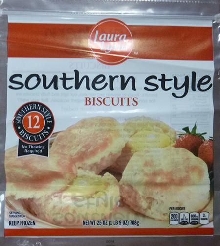 LAURA LYNN SOUTHERN STYLE BISCUITS, 12 ct UPC 8685402591