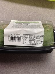 """Photo:  Nutrition Facts Label - DIEBERGS KITCHEN Grilled Chicken Caesar Wrap"""