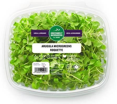 """Greenbelt Microgreens, Arugula, 75 gm"""
