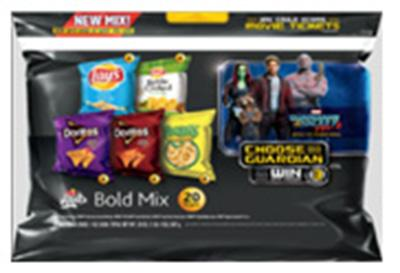 """20 count Frito-Lay Bold Mix Sack Containing Jalapeno Flavored Chips"""