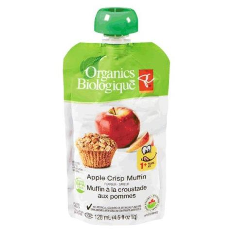 Apple Crisp Muffin flavour - puree snack