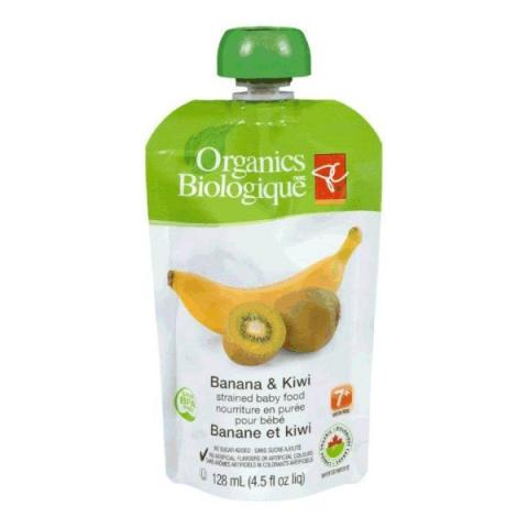 Banana & Kiwi - strained baby food