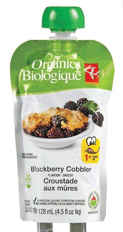 Blackberry Cobbler Flavour - puree snack
