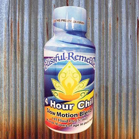 Blissful Remedies 4 Hour C Chill Slow Motion Blend, 1.93 Fluid Oz. (57ml)