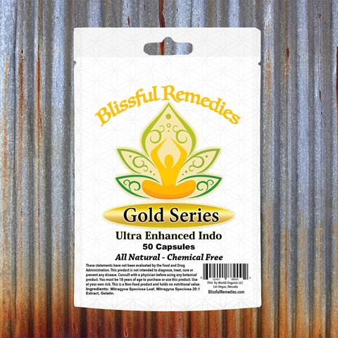 Blissful Remedies Gold Series, Ultra Enhanced Indo, 50 Capsules