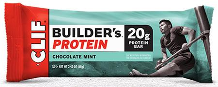 Voluntary Recall of CLIF BUILDER'S Bar Chocolate Mint Flavor