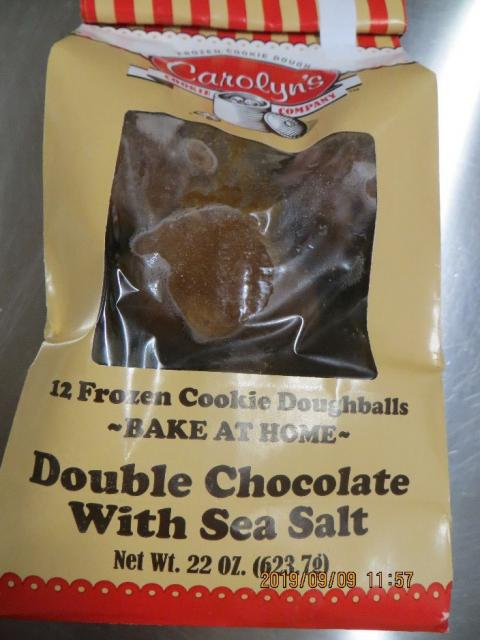 CCC Double Chocolate with Sea Salt, Net Wt 22oz