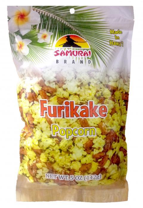 Label, Furikake Popcorn
