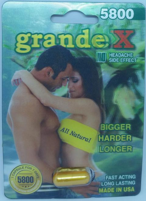 Grand X, Front of package