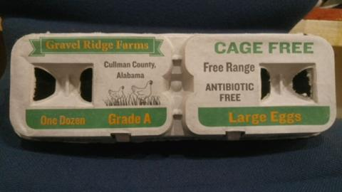 Gravel Ridge Farms Recalls Cage Free Egg Due to Possible Salmonella Contamination