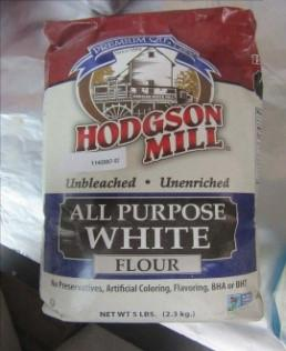 Hodgson Mill All Purpose White flour, 5 lb.