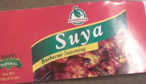 Home Fresh Foods, Suya Barbecue Seasoning