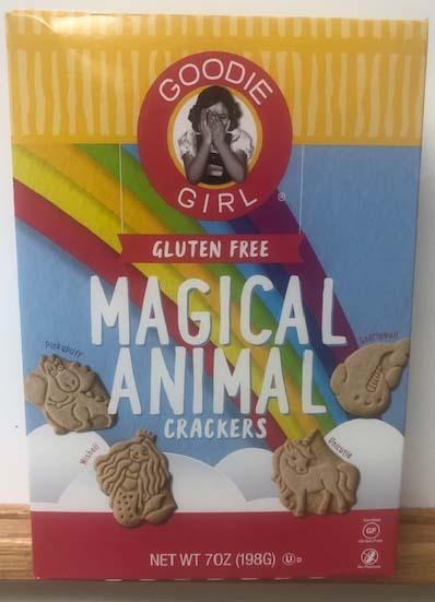 Photo:  GOODIE GIRL Gluten Free MAGICAL ANIMAL CRACKERS NET WT 7 OZ (198 G)