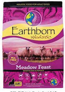 "Image 11. ""Earthborn Holistic Meadow Feast, front label"""
