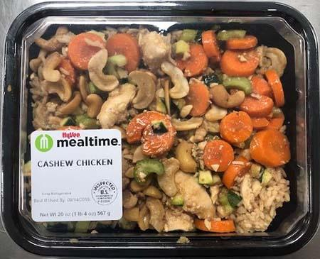 Cashew Chicken 20 oz- lot 19250 and 19251