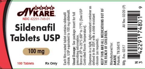 Product labeling AvKare TraZODONE Hydrochloride Tablets USP 100 mg, 1000 Tablets Rx Only