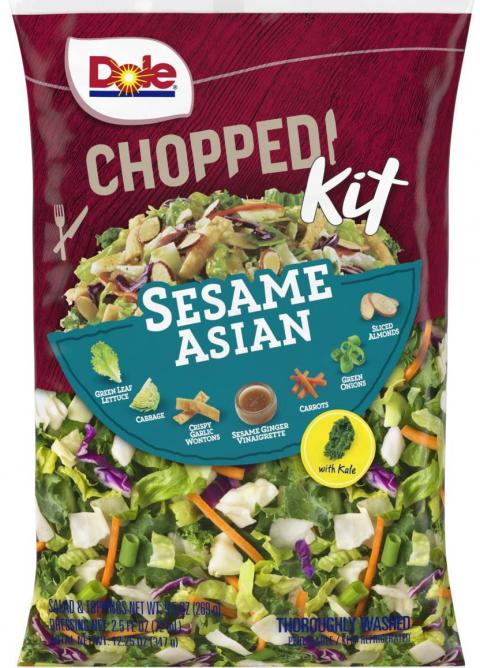Dole Sesame Asian Chopped Salad Kit