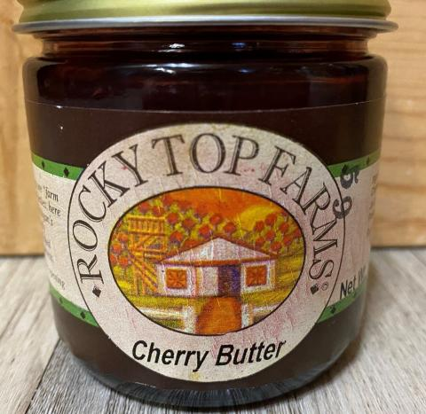 Label, Rocky Top Cherry Butter
