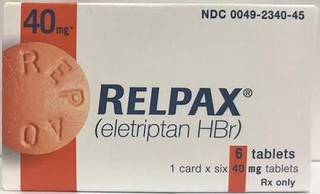 """RELPAX package, 6 tablets"""