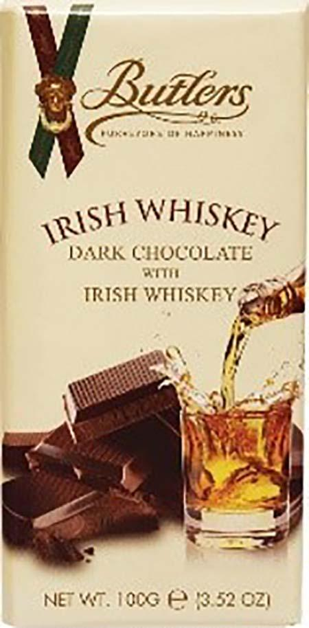 """Image of Butlers Irish Whiskey Dark Chocolate Bar"""