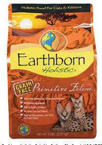 "Image 26. ""Earthborn Holistic Primitive Feline, front label"""