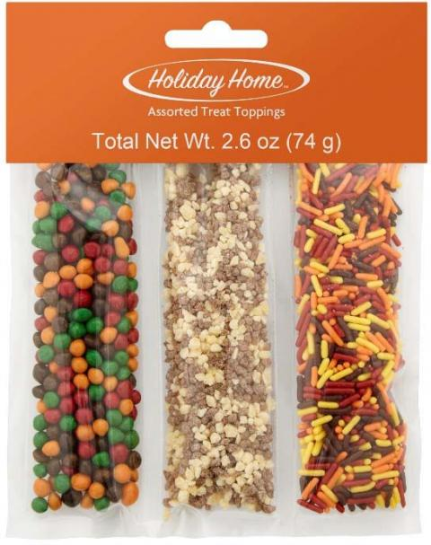 Photo – Holiday Home Assorted, Assorted Treat Toppings
