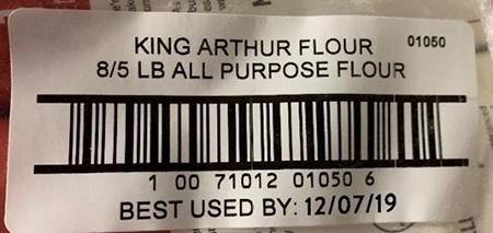Labeling, barcode, best used by date""