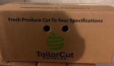 Tailor Cut Produce Fruit Luau in Box