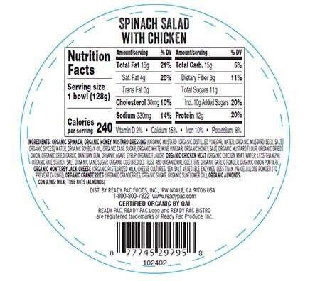 Bottom Label on Affected Salads (Incorrect)