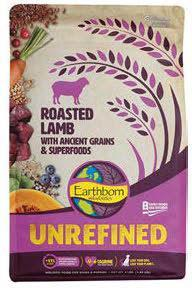 "Image 30. ""Unrefined Roasted Lamb with ancient grains & superfoods, front label"""