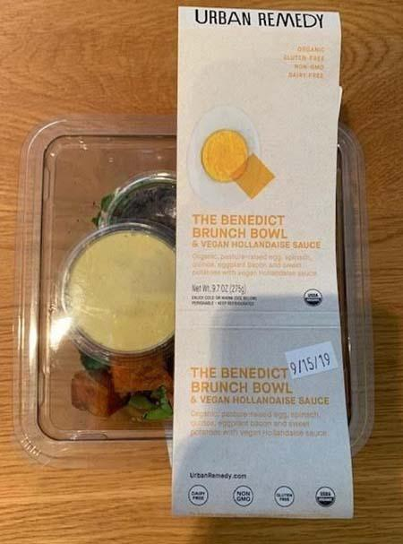Urban Remedy The Benedict Brunch Bowl