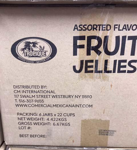Photo 3:  Box Fruit Jelly Cup