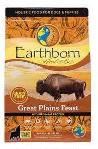 "Image 3. ""Earthborn Holistic Great Plains Feast, front label"""