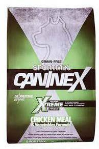 "Image 48. ""Grain Free Sportmix Caninex, Xtreme, Chicken Meal & Vegetables Formula, front label"""