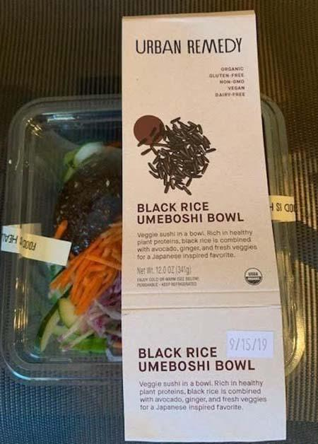 Urban Remedy Black Rice Umeboshi Bowl